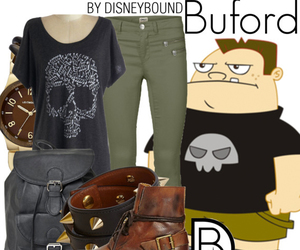 disney, phineas and ferb, and buford image