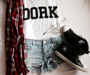 fashion, clothes, and dork image