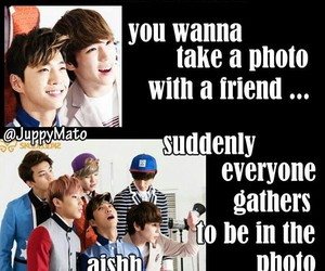 b.a.p, funny, and kpop image