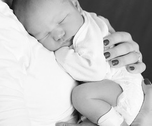 babies, mommy, and newborn image