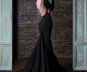 dress, black, and rami kadi image