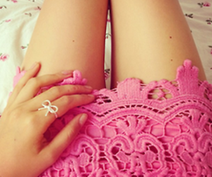pink, fashion, and ring image