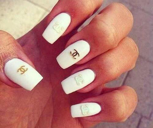 coco chanel, nail art, and girls image