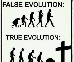 evolution, god, and love image
