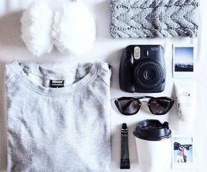 fashion, clothes, and polaroid image