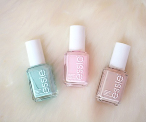 nails, girly, and essie image