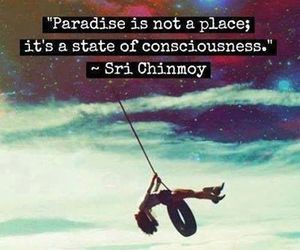 girl, paradise, and quote image