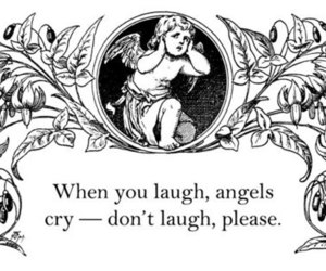 cry, quote, and angel image