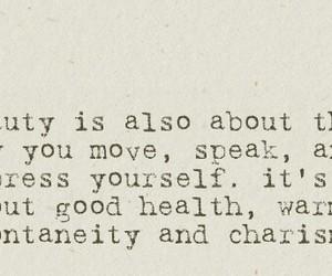 beauty, Move, and charisma image