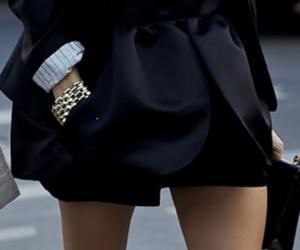 fashion, black, and olivia palermo image