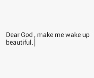 beautiful, please, and pray image