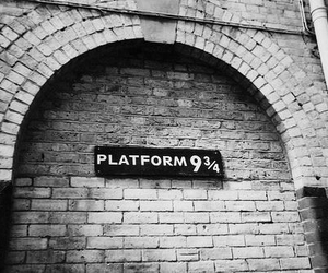 black and white, hp, and movies image