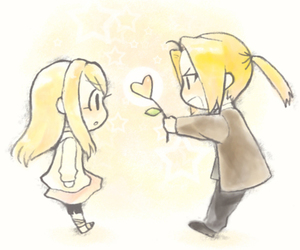 winry, cute, and anime image