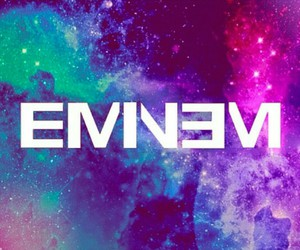 eminem, galaxy, and music image