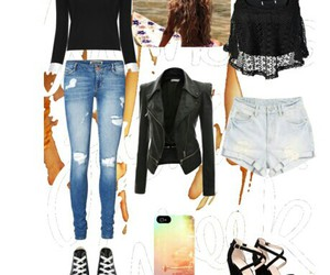 fashion, heart, and outfit image
