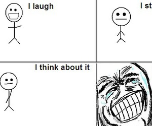 lol, funny, and laugh image