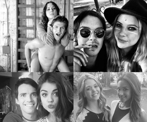 pretty little liars, pll, and ezria image