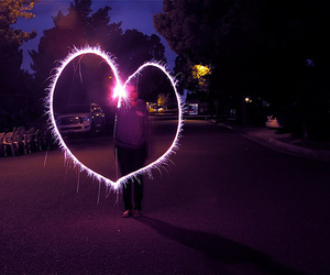 heart, light, and photography image