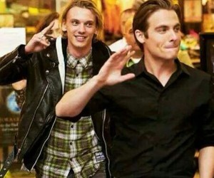 Jamie Campbell Bower and Kevin Zegers image