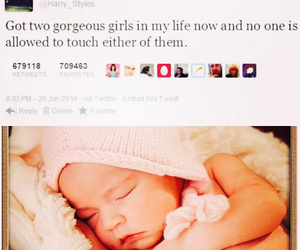 baby, imagine, and harrystyles image