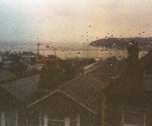 photo, rain, and vintage image