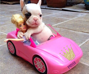 barbie, car, and cute image