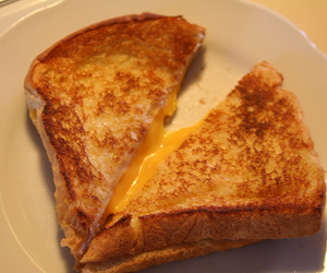 cheese, food, and grilled cheese image