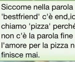 pizza and bestfriend image