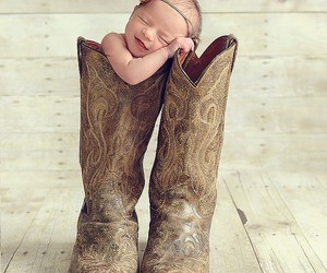 baby, cute, and boots image