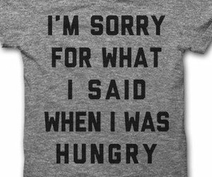 funny, fashion, and hungry image
