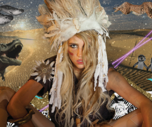 bullshit, feathers, and head dress image