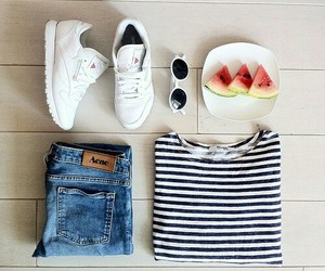 clothes, fashion, and melon image