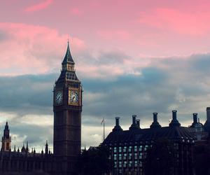 london, sky, and Big Ben image