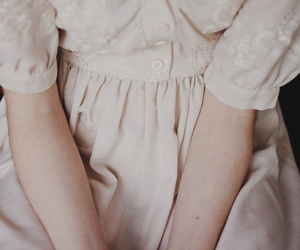 vintage, dress, and pale image
