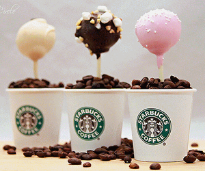 starbucks, coffee, and cake pops image