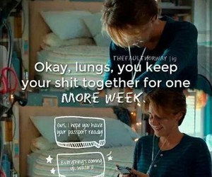 hazel grace, tfios, and the fault in our stars image