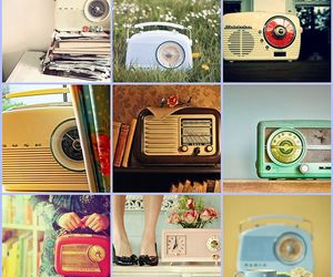 radio, retro, and vintage image