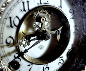 gears, steampunk, and watches image