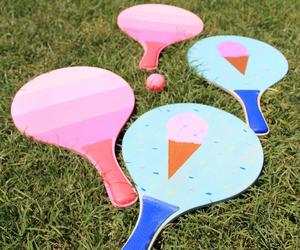 diy, ping pong, and paddle board image
