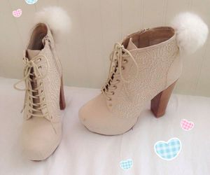boots, fashion, and kawaii image