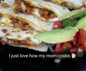 food, mexican, and mom image