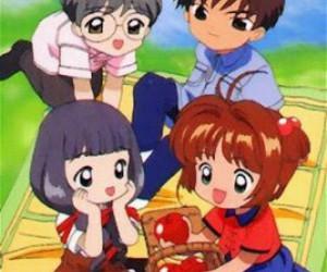 sakura card captor, sakura kinomoto, and tomoyo daidouji image
