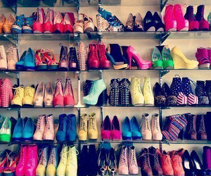 chaussures, heel, and escarpins image