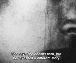 quotes, sad, and eyes image