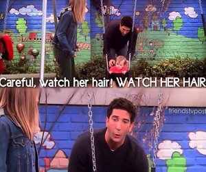 baby, David Schwimmer, and funny image