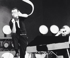 black and white, hurts, and theo hutchcraft image