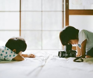 asian, kids, and photo image