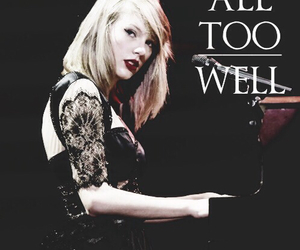 Taylor Swift, all too well, and red tour image