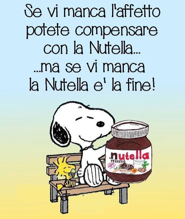 Image About Nutella In Peanuts By Xtina Kry
