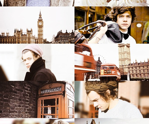 london, Harry Styles, and one direction image
